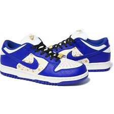 Supreme x Nike SB Dunk Low Blue Hyper Royal US 9/UK 8/EU 42.5 FAST EU SHIPPING