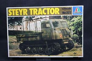 XZ084 ITALERI 1/35 maquette camion 227 Steyr Tractor vehicule tracteur chenille