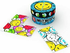 Game Factory 76136 - Smiley Match Game, blau