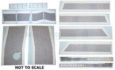 International 1466 BLACK STRIPE Vinyl Decal Set