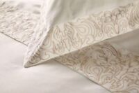Henry Christy Sloane Superking Duvet Set 100% Cotton With Embroidered Detail