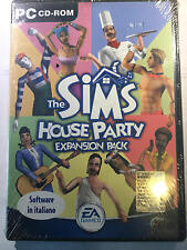 Gioco espansione Pc The Sims 2 House party expansion pack sigillato sealed  ita