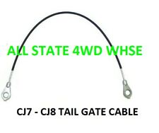 JEEP CJ7 CJ8 Scrambler Tailgate Cable OEM Quality 1976-1986 NEW EACH