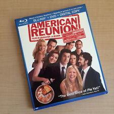 American Reunion [Blu-ray/DVD, 2012, Canadian, Slipcover] missing DVD