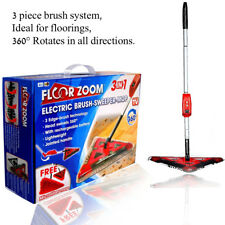 Electric Brush-Sweeper-Mop Rechargeable, Lightweight, Cordless