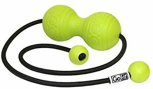 GoFit massage Trigger Ball - Green, 17.78 x 5.39 x 22.54 cm