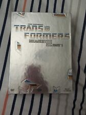 Transformers - Season 2: Part 1 (DVD, 2002, 4-Disc Set) New And Sealed.