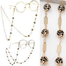 be21a58a11c Glasses Neck Chain Cord Lanyard Chic Metal Beads Retainer Spectacles  Sunglasses