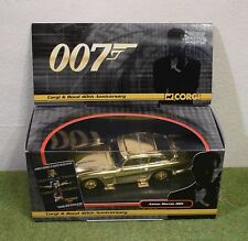 JAMES BOND 007 CORGI CC04307 1:36 SCALE 40TH ANN ASTION MARTIN DB5 GOLDFINGER