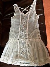 Topshop Dress/Top,Lace,cream, Hippy,Boho,Festival