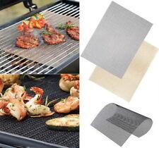 Yard, Garden & Outdoor Living 2PCS/Set BBQ Grill Mat Bake Non-Stick Grilling Mats Barbecue Pad Fiber CA