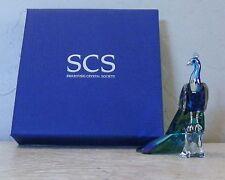 2013 SWAROVSKI SCS PEACOCK ARTIST SIGNED ADAMER 1142861 NEW IN BOX