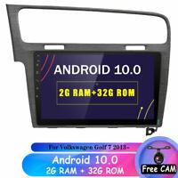 "10.1"" Android 10.0 GPS Navi Autoradio 32GB für Volkswagen Golf 7 2013- DAB+ SWC"