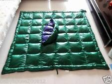 Shiny nylon expedition down sleeping bags duvet quilt 2000g filling wetlook warm