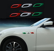 For Maserati Levante 2016-2021 6PCS Colour Side Wing Air Vent Fender Cover Trim