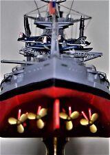 WW2 Battleship USS Arizona 1941 Metal Hull Model Pearl Harbor World War Two