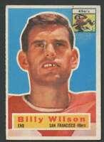 1956 Topps #62 Billy Wilson VG/VGEX 49ers 25519