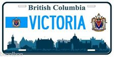Victoria British Columbia Canada Aluminum Novelty Car License Plate