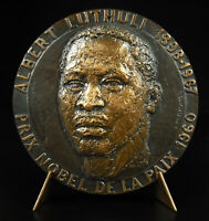 Medal Albert Luthuli Mvumbi South African Right Nobel Baumel 1973 Apartheid