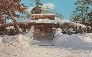 (U)  Interlochen, MI - Interlochen Arts Academy - Exterior - Winter - 3/7/1975