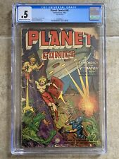 """Planet Comics #68 CGC 1952 Fiction House """"Synthoids of the 9th Moon"""" Sci-Fi"""