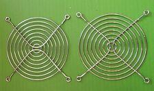 Protector de Ventilador 127 mm 8 anillo de metal cromado brillante alambre de acero G127 X 2 un. Ono