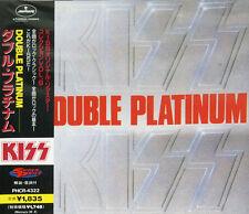 "KISS ""Double Platinum"" CD import japan w/obi 1997 Label Mercury PHCR-4322 TOP !"
