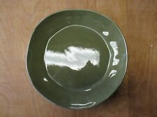 """Woolrich Zrike SUMMERSTONE FALLS Dinner Plate 11"""" Green Brown 1 ea 4 available"""