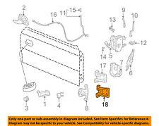 FORD OEM 94-04 Mustang-Door Hinge-Lower 1R3Z6322810AA