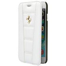 Etui officiel Ferrari folio  pour iPhone 6 Plus Blanc Neuf et Emballer