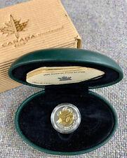1999 Canada Nunavut Proof $2 Silver Coin - In original Case with COA