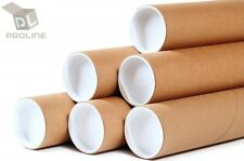 "2""x15"" ProLine Premium Kraft Mailing Shipping Tubes - 50 Tubes"