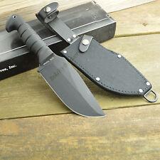 Ka-Bar Heavy Duty Warthog 1085 Carbon Plain Edge Fixed Blade Knife 1278