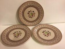 Johnson Bros. Old Granite Fruit Sampler Bread Plates - 3