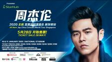 Selling 2 Jaychou Tickets Singapore 11 Jan, $252 per ticket.