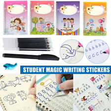 Magic Handwriting Copybook Reused Groove Practice Calligraphy Book for Kids Gift