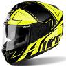 Airoh ST701 Voie Brillant Jaune Tricomposite Moto Casque