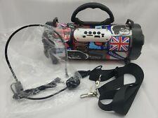 CH-M06 Portable Outdoor Wireless/Bluetooth Speaker FM USB SD mp3 London England