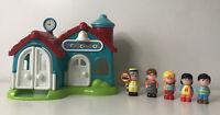 ELC Happyland Preschool with 5 Figures/Characters. Full Working Sounds.