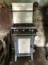 More details for antique enamel kingsway cooker by fletcher & russell museum piece