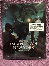 Escape from New York BLU-RAY STEELBOOK LIMITED EDITION SCREAM FACTORY RARE OOP