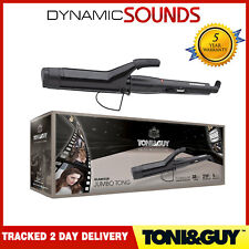 Toni & Guy 38mm Salon Pro Jumbo Hair Curling Tong Wand Iron TGIR1927UK