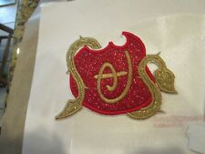 Iron on embroidered applique- 4in or 5 in descendants Logo