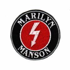 Marilyn Manson Patch Hard Shock Rock Industrial Alternative Metal Music Band