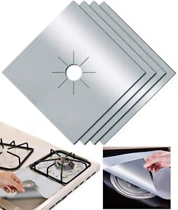 Multi Use Gas Range Stove Hob Protector Liner Non Stick Gas Cooker Cover Mat UK