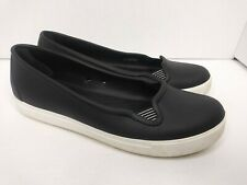Dual Crocs Women's  Comfort Mary Jane Slip On Sandals Black Size 8
