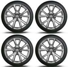 "SET OF FOUR GENUINE AUDI A7 S7 19"" ALLOY WHEELS + DUNLOP WINTER TYRES"