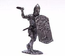 tin 54mm Spartan Warrior. Greece Miniature Metal Figurine