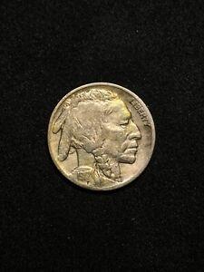 1917 P Buffalo Nickel - Nice Toning