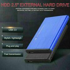 Portable 2.5'' 6TB USB 2.0 External Hard Drive Box Slim SATA Storage Device Case